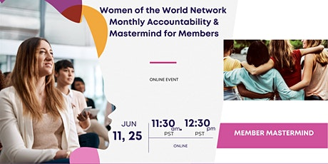 Women of the World Network: Member Mastermind tickets