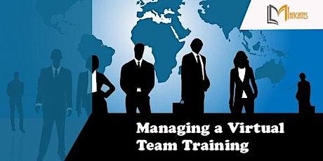Managing a Virtual Team 1 Day Virtual Live Training in Stuttgart Tickets