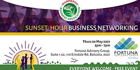 Sunset Hour Business Networking - Balcatta tickets