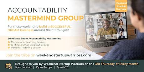 Accountability Mastermind Group - Night tickets
