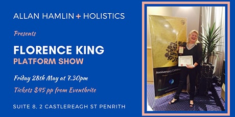 Florence King Platform Show tickets
