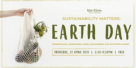 Sustainability Matters: Earth Day tickets