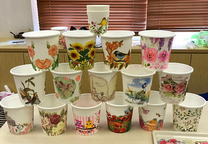 Decoupage Art Course starts May 19 (8 Sessions) image