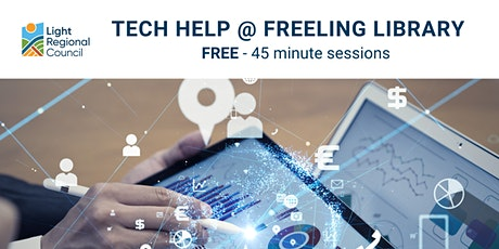 Tech Help @ Freeling Library tickets