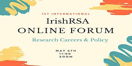 IrishRSA Online Forum biglietti