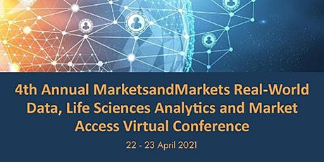 4th Annual MnM Real-World Data, Life Sciences Analytics & Market Access Cnc tickets