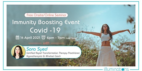 FREE ONLINE SEMINAR! IMMUNITY BOOSTING EVENT – COVID -19 tickets