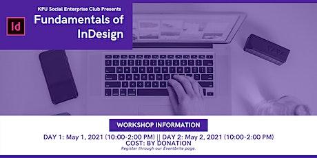 KPU Social Enterprise Club Presents: Fundamentals of InDesign tickets