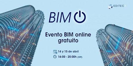 BIM On 2021 - El mayor evento online sobre BIM en español entradas