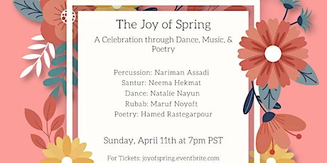The Joy of Spring: A Celebration through Dance, Music, & Poetry tickets