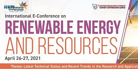 International E-conference on Renewable Energy and Resources tickets