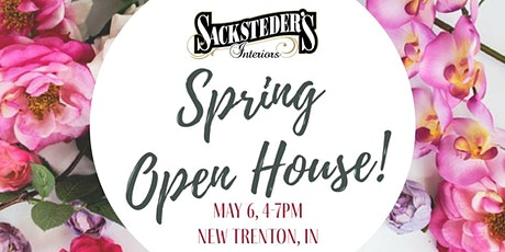Sacksteder's Interiors Spring Open House - New Trenton tickets