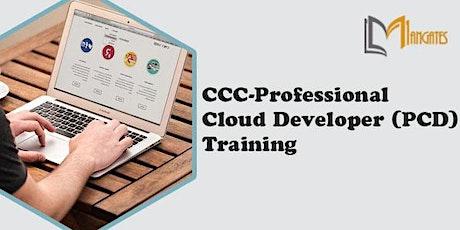 CCC-Professional Cloud Developer (PCD) 3 Days Training in `Edmonton tickets