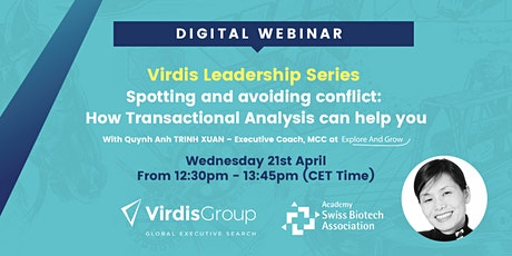 """""""Spotting and avoiding conflict: How Transactional  Analysis can help you"""" tickets"""