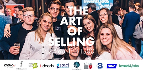 The Art of Selling - Gratis Online Event tickets