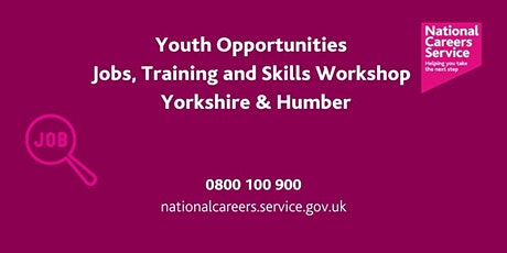 Youth Opportunities (18- 24) - Leeds, York & North Yorkshire tickets