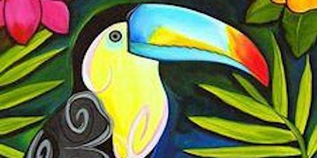 Children's Art Webinar 'Tropical Toucan tickets