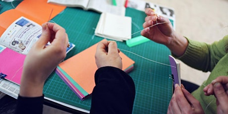 Make it Yours Workshops from Home: Experimental bookbinding tickets