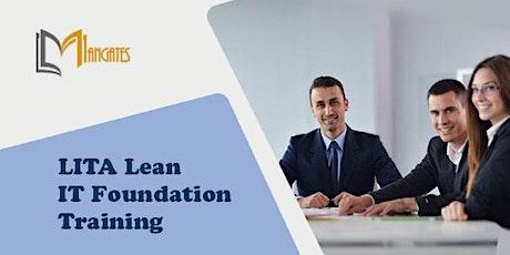 LITA Lean IT Foundation 2 Days Virtual Live Training in Hartford, CT tickets