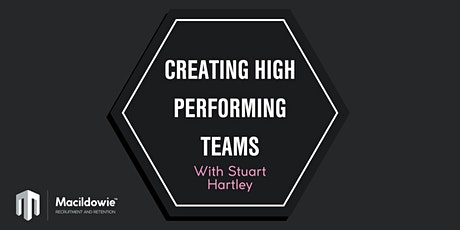 Creating high performing teams event tickets