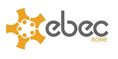EBEC Rome 2021- Team Design biglietti