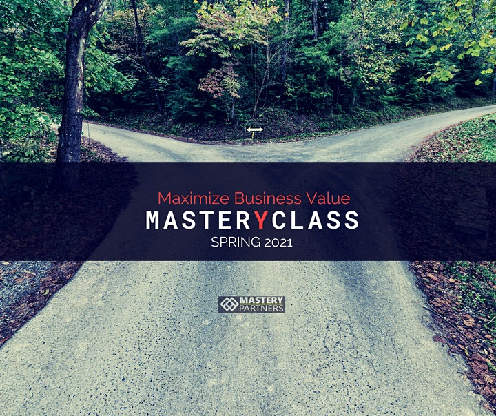 [INFO] Maximize Business Value MasterYclass image