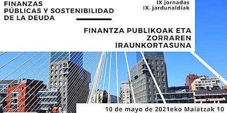 IX Jornadas Ituna - Finanzas Públicas y Sostenibilidad de la Deuda tickets