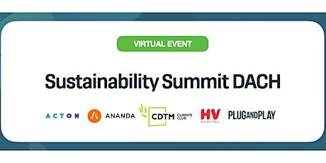 Sustainability Summit DACH tickets