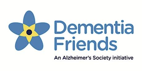 Sesiwn Ymwybyddiaeth Ffrind Dementia / Dementia Friends Awareness Session tickets
