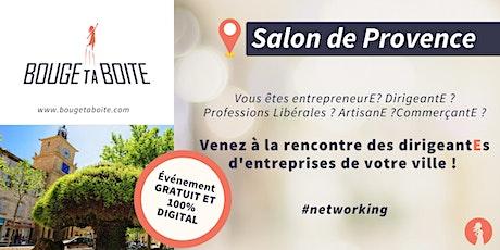 Venez découvrir le réseau business 100% féminin à Salon de Provence billets