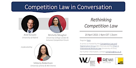 Competition Law in Conversation: Rethinking Competition Law tickets
