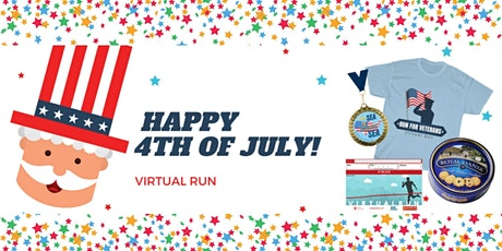 Independence Day Virtual Run tickets
