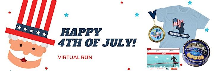 Independence Day Virtual Run image