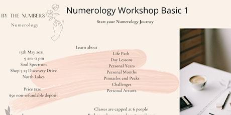Numerology Workshop Basic 1 tickets