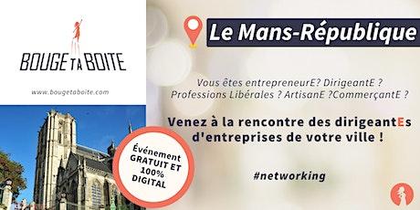 Venez découvrir le réseau business 100% féminin au Mans billets
