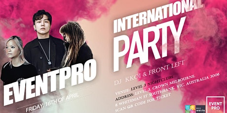 EVENTPRO Melbourne International Party tickets