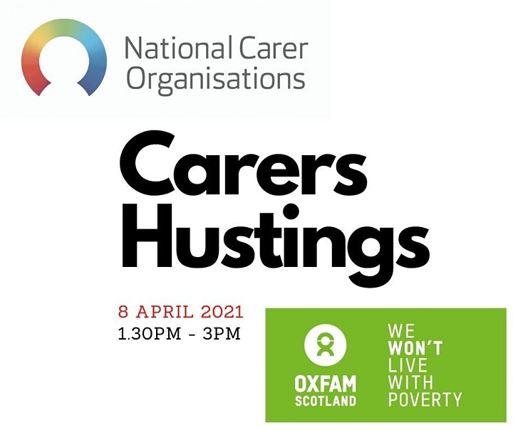 Carers Hustings - National Carer Organisations and Oxfam Scotland image