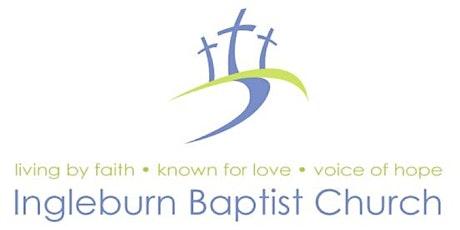 Ingleburn Baptist Church 2021 Sunday Service 11th April, 9:30am tickets