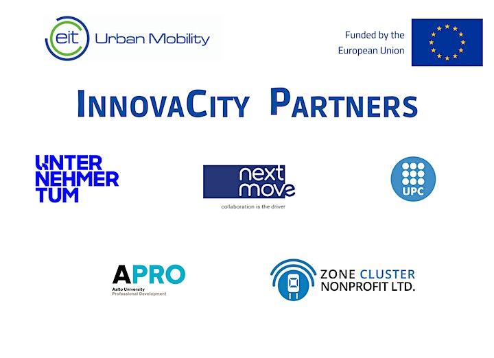 InnovaCity Barcelona | Mobility Workshop Online image