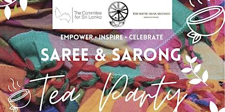 Saree and Sarong Tea Party tickets