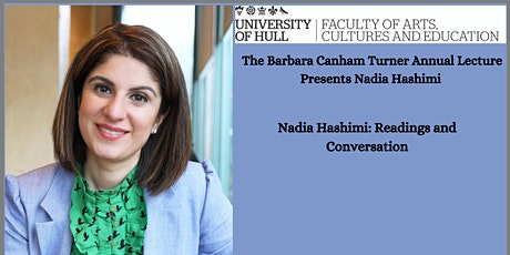 The Barbara Canham Turner Annual Lecture Presents Nadia Hashimi tickets