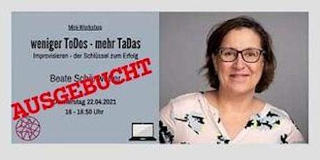 Power Frauen Online Woche - weniger ToDos - mehr TaDas Tickets