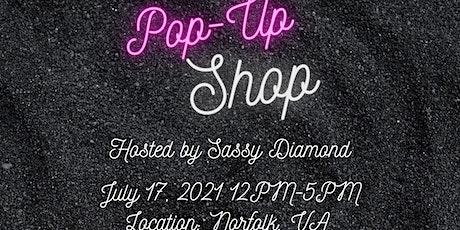 Sassy Diamond Popup Shop tickets