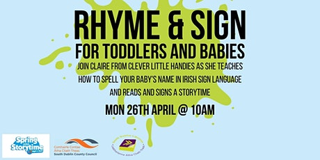 Rhyme and Sign Storytime with Clever Little Handies tickets