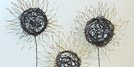 Wire Sunflowers for the Garden with Anna Roebuck tickets