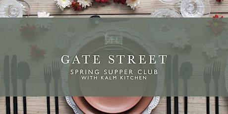 Spring Supper Club tickets