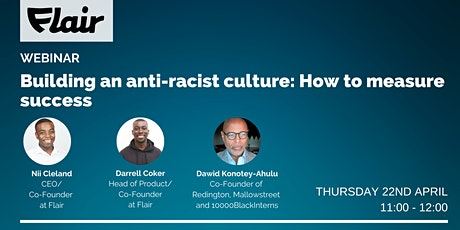 Building an anti-racist culture: How to measure success tickets