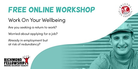WORK ON YOUR WELLBEING:  Session 1 - Resilience tickets