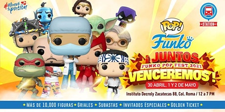 FUNKO POP FEST 2021 boletos