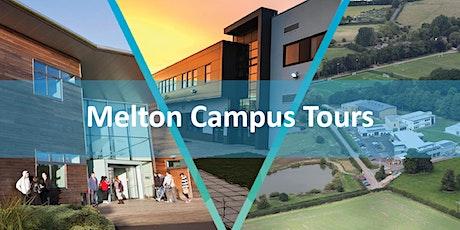 Melton Campus Tours tickets